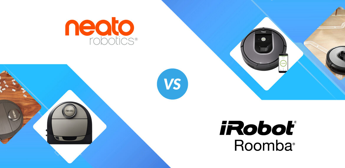 Neato Vs Roomba: Robot Vacuum Face-Off!
