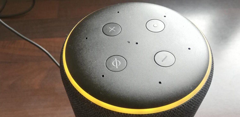 Alexa Yellow Ring