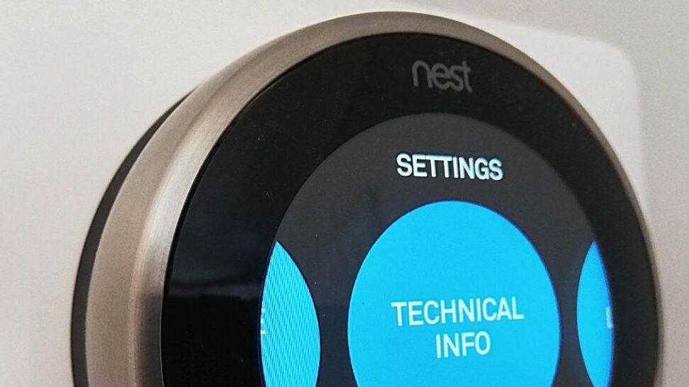 Nest Thermostat Battery