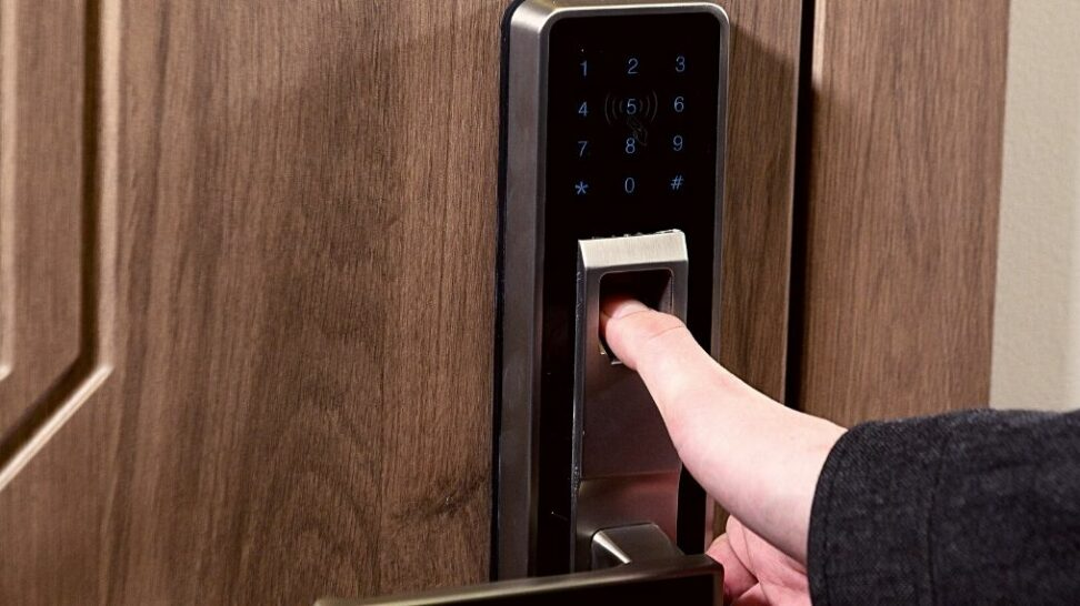 Fingerprint Biometric Door Lock