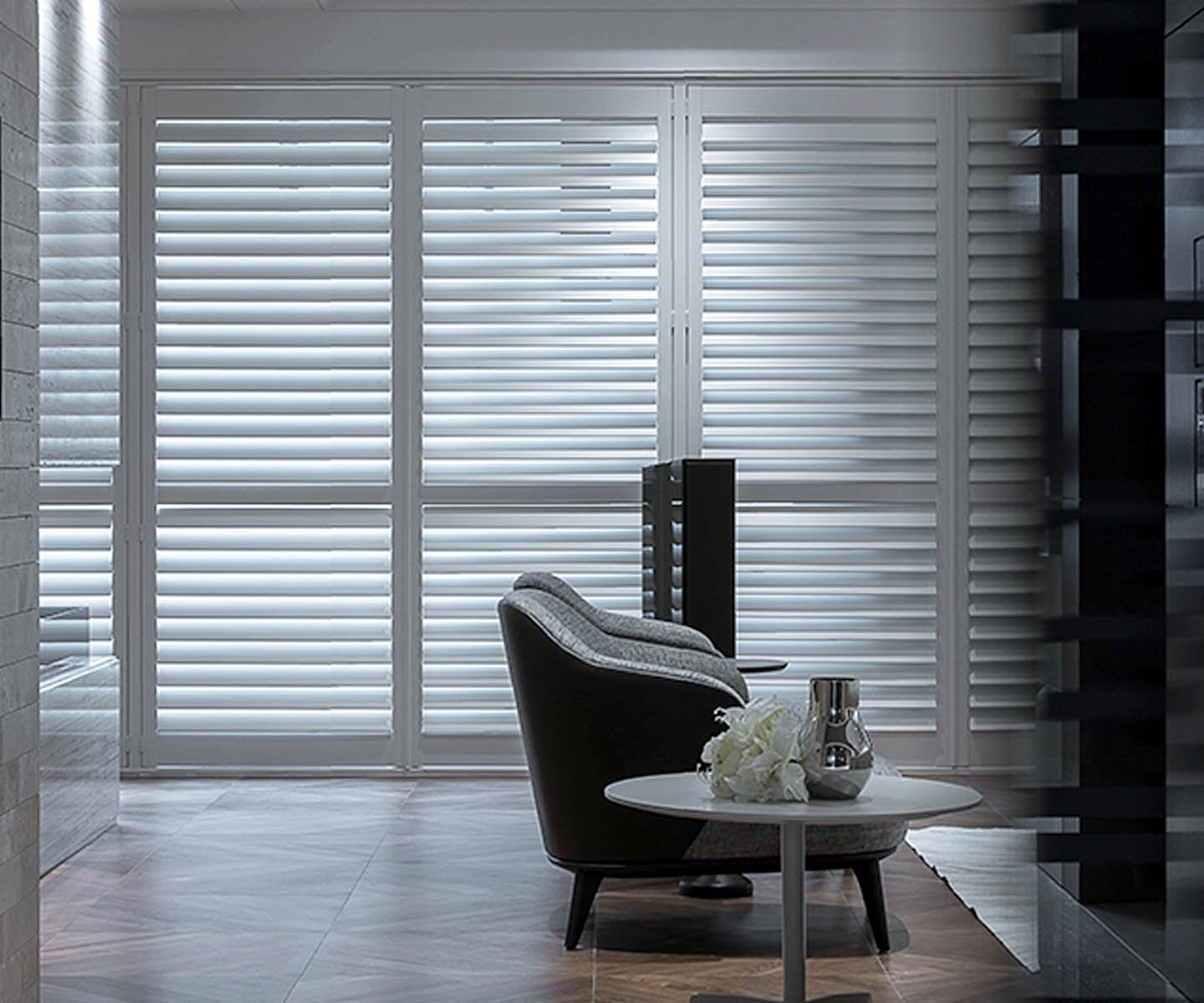 Norman Remote Controlled Shutters