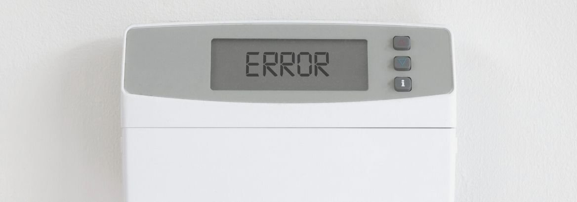 Honeywell Thermostat Error Code Guide
